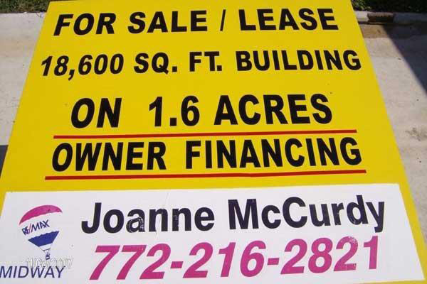 Real Estate Signs by Sign Art Plus of Fort Pierce