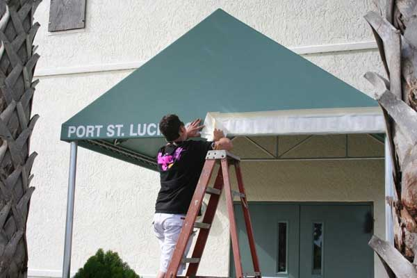 Custom Sign Awnings