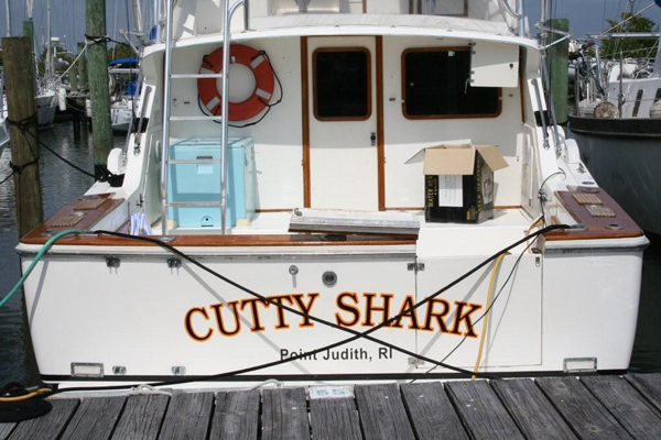 Yacht Signs, Graphics and Lettering