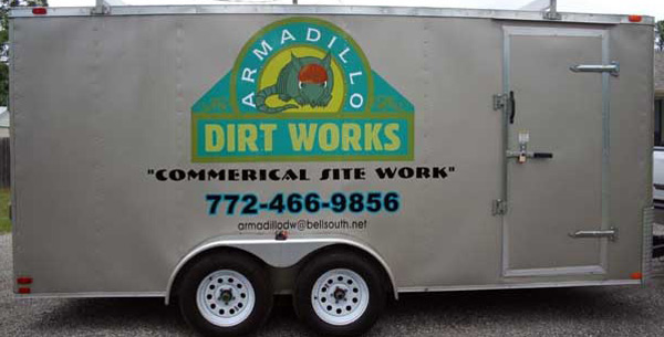 Trailer Signs, Graphics, Warps and Lettering by Sign Art Plus of Vero Beach