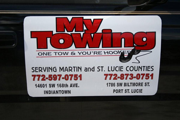 Magnetic Signs in Vero Beach Florida